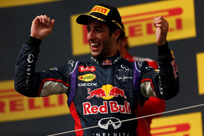 Даниэль Риккардо выиграл гонку Гран При Венгрии 2014  Формулы 1