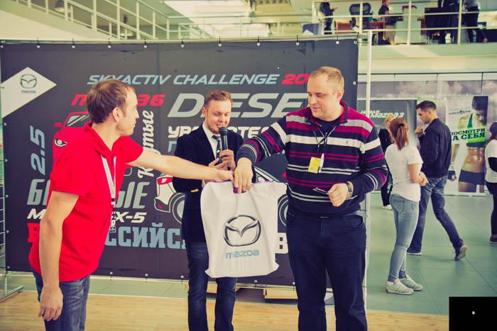 Mazda SKYACTIV Challlenge 2014 в РОЛЬФ Восток