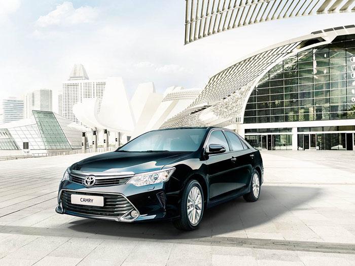 Новая Toyota Camry доступна для заказа в России