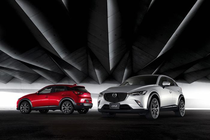 Абсолютно новый компактный кроссовер Mazda CX-3