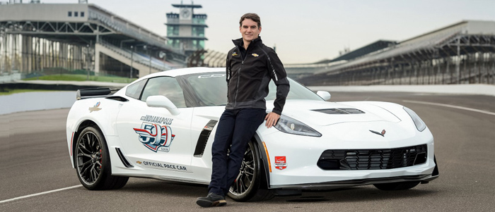Автомобилем безопасности на Indy 500 стал Chevrolet Corvette Z06