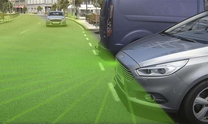 Камера Ford умеет заглядывать за угол