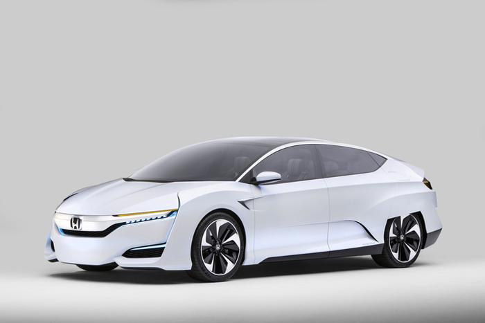 Honda FCV дебютирует на Североамериканском Международном Автосалоне