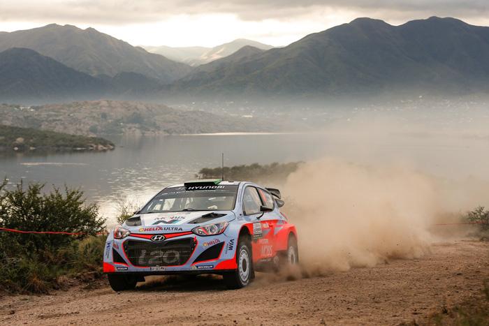 Команда Hyundai Motorsport заняла пятое место на Ралли Аргентины