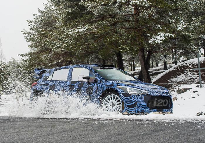 Hyundai Motorsport продолжает работу над i20 WRC нового поколения