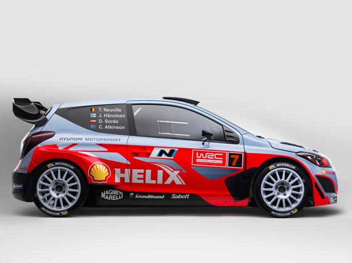 Hyundai Motorsport представляет Hyundai Mobis World Rally Team