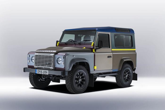 Land Rover и дизайнер Пол Смит создали уникальный Defender