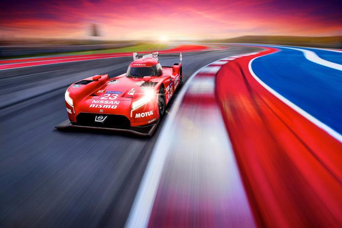 Nissan GT-R LM NISMO дебютировал в гонке 24 часа Ле-Мана