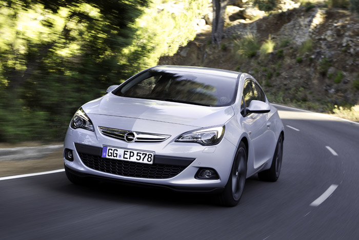 Opel представляет новую модификацию Astra GTC