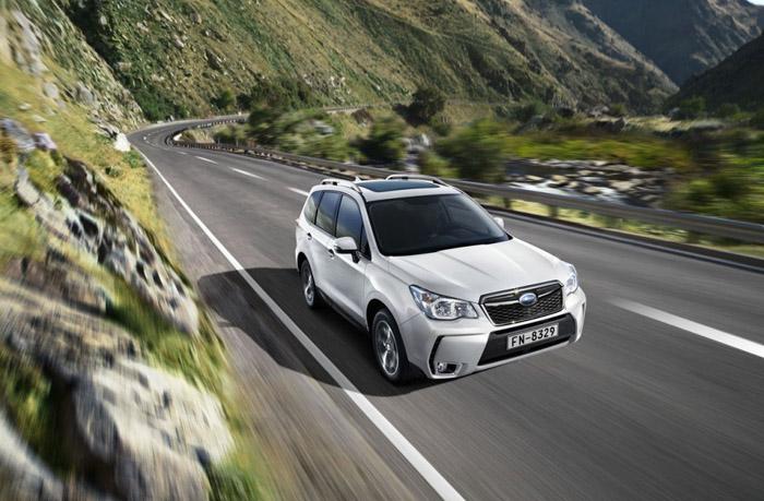 Старт продаж нового Subaru Forester 2015