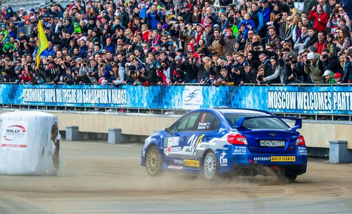 Победа Subaru URT Team на Rally Masters Show