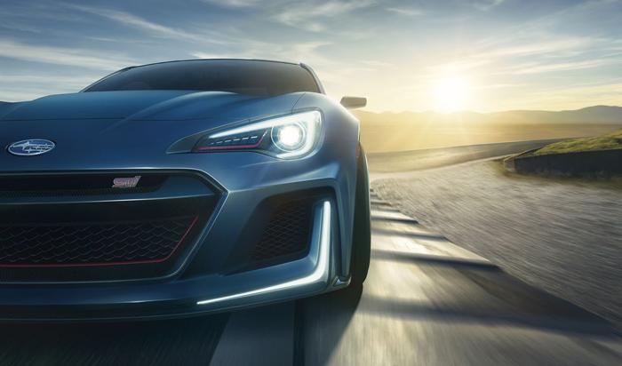 Subaru представила концепт STI на Нью-Йоркском Автосалоне