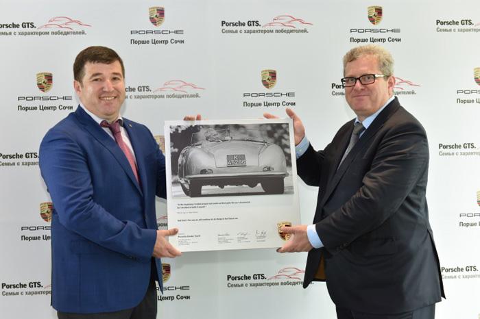 Porsche открывает дилера в Сочи