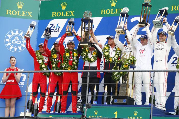 Porsche одержала победу в 24-часовой гонке Ле-Мана 2015