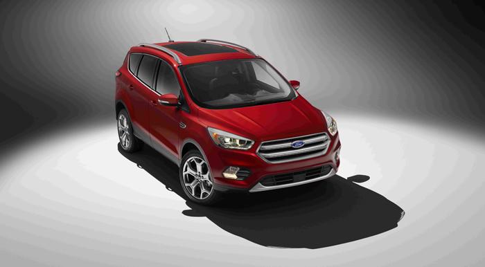 Ford представляет новый смарт-кроссовер Escape (Kuga)