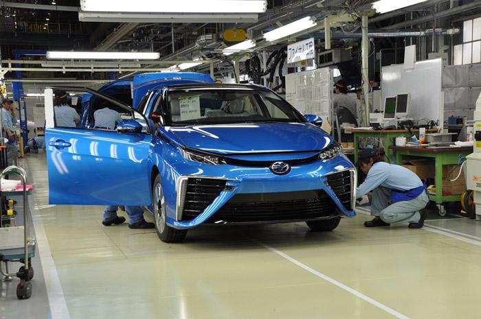 Старт производства инновационного Toyota Mirai