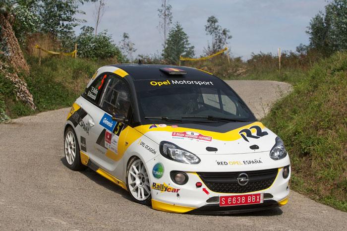 Opel ADAM R2 на чемпионатах по ралли