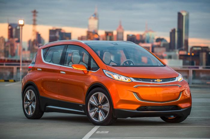 Концепт электромобиля Chevrolet Bolt EV
