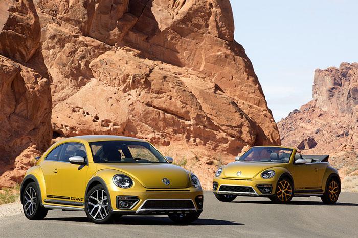 Мировая премьера нового Volkswagen Beetle Dune