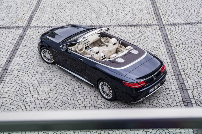 Новый кабриолет Mercedes-AMG S 65 2016