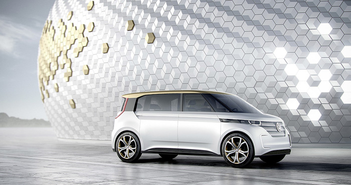 Мировая премьера минивэна Volkswagen BUDD-e