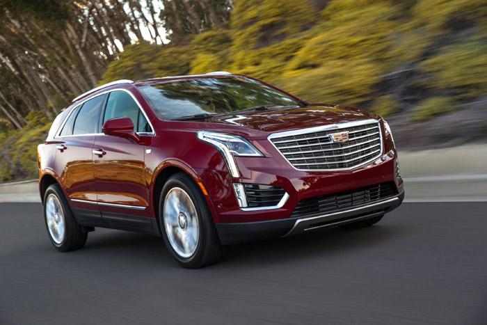 Новый кроссовер Cadillac XT5 2016