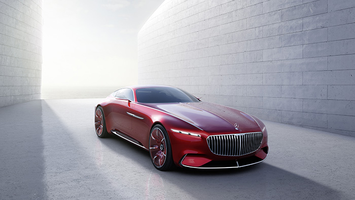 Концепт купе Vision Mercedes-Maybach 6