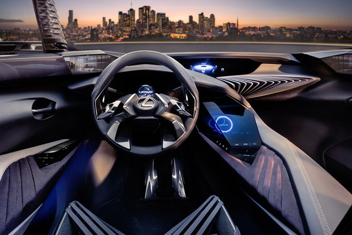 Концепт - кар Lexus UX
