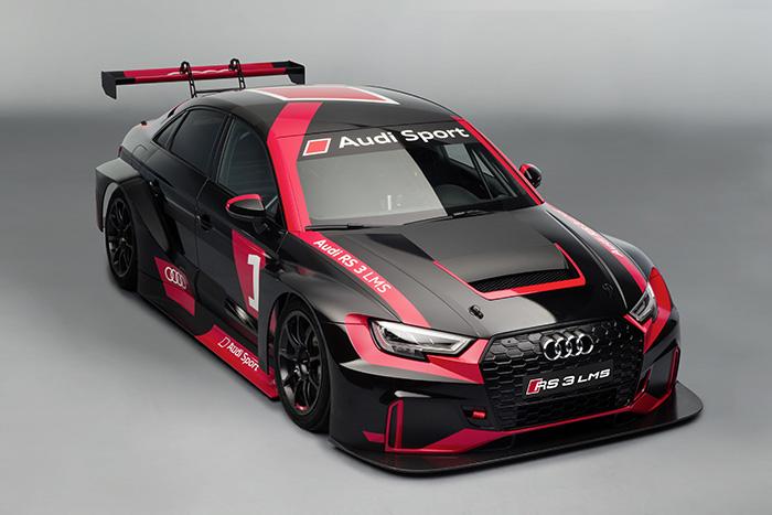 Гоночная версия Audi RS 3