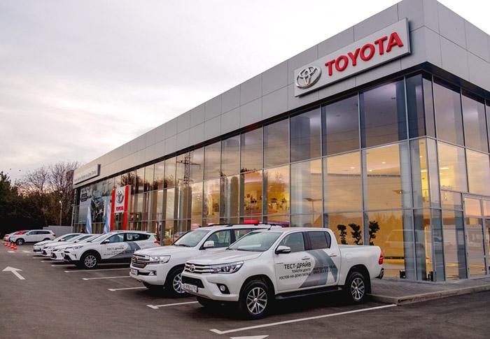 Новый дилерский центр Тойота в Ростове-на-Дону