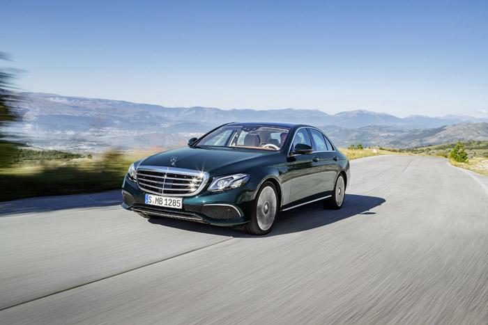 Новый седан Mercedes-Benz Е-Класса 2016