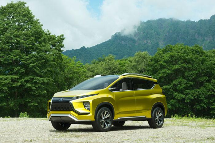 Мировая премьера концепт-кара XM Concept от Mitsubishi Motors