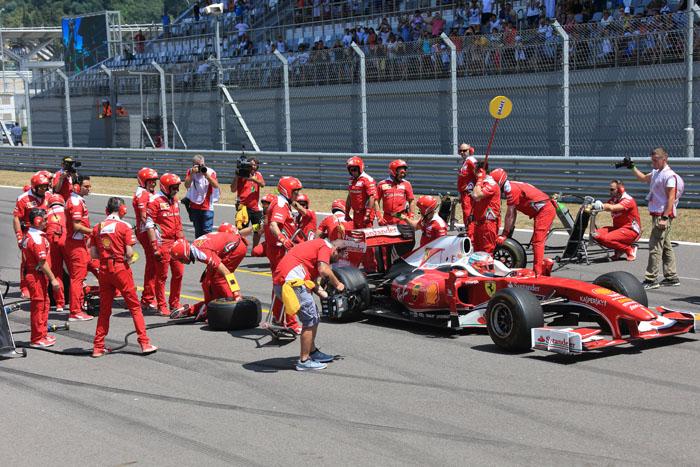 Ferrari Racing Days на Сочи Автодроме