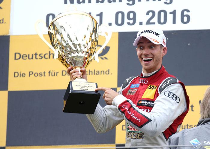 Юбилейная победа Audi в DTM на трассе Нюрбургринг