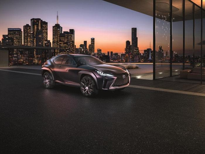 Премьера концепт-кара Lexus UX