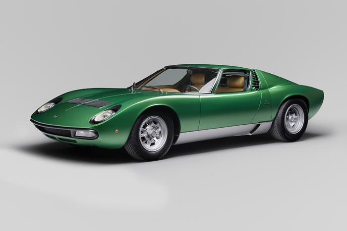 Lamborghini PoloStorico отреставрировала шоу-кар Miura SV 1971 года