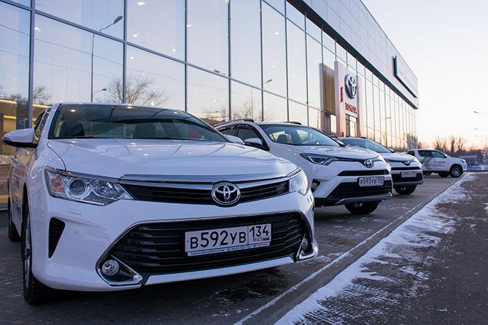 Новый дилерский центр Тойота в Волгограде