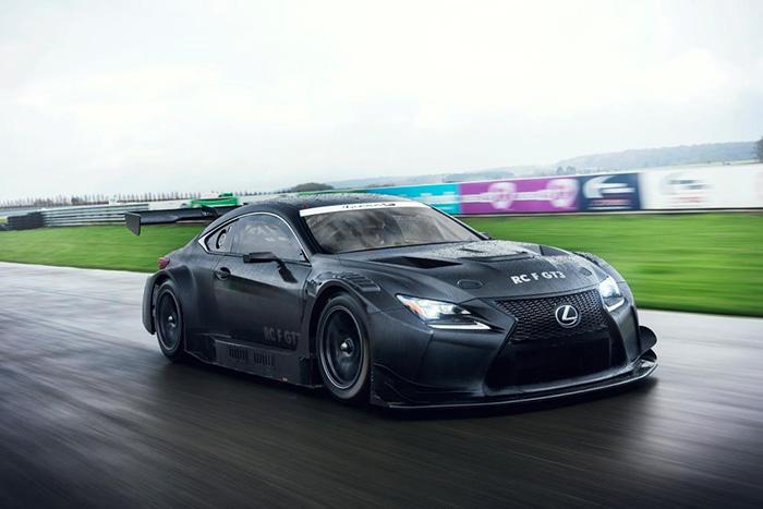 Новый гоночный автомобиль Lexus RC F GT3