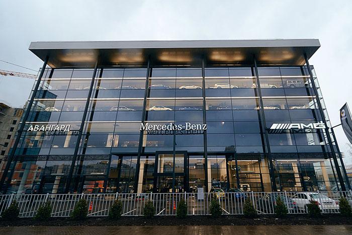 Новый ультрасовременный дилерский центр Mercedes-Benz «АВАНГАРД»
