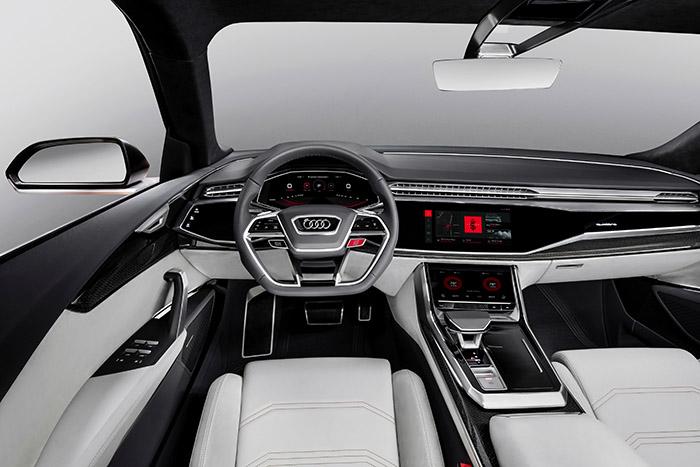 Audi представляет операционную систему Android в концепт-каре Audi Q8 sport