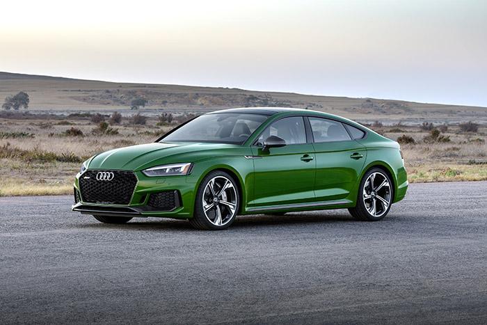 Новый Audi RS 5 Sportback 2018