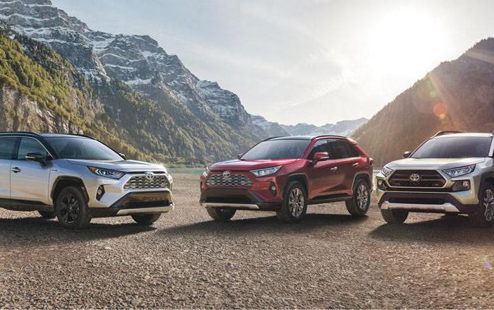 Новое поколения Toyota RAV4 2018
