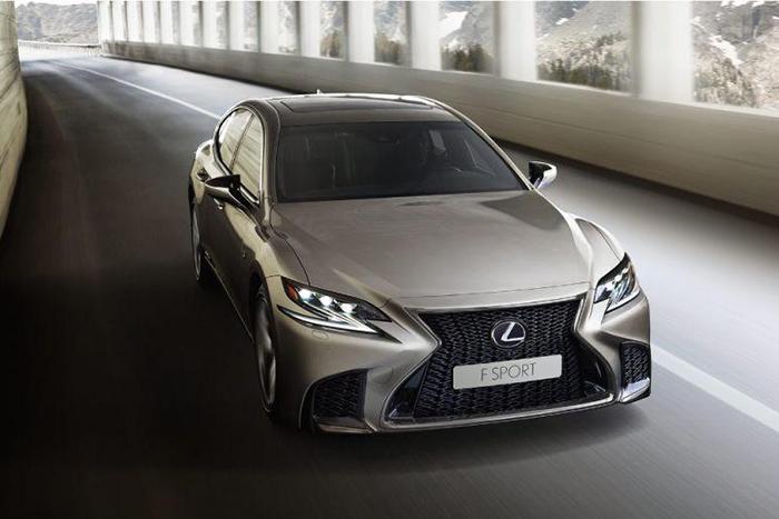 Старт продаж нового поколения Lexus LS 2018